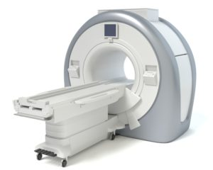 A rendering of an MRI, used to show the variability in pricing for certain procedures.